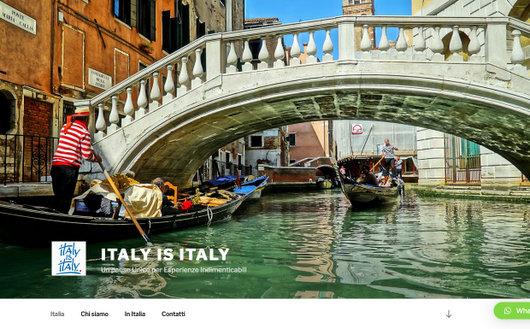 Italy is Italy Portale www.italyisitaly.it